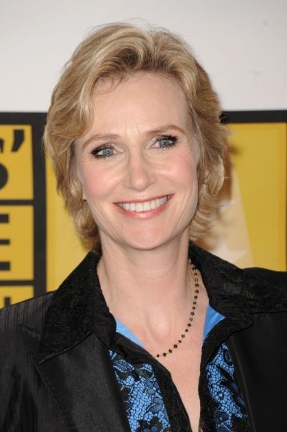 """""""Glee"""" star Jane Lynch arrives at the Critics' Choice Television Awards at the Beverly Hills Hotel in Beverly Hills, Calif., on June 20, 2011  -- Getty Images"""