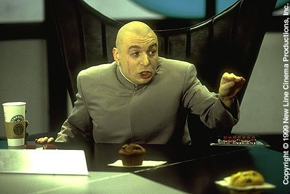 Mike Myers as The Nefarious Dr. Evil in Austin Powers: The Spy Who Shagged Me