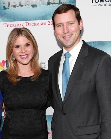 Jenna Bush Hager and husband Henry Chase Hager attend &#39;A White House Christmas: First Families Remember&#39; Premiere Party at Tenjune, New York City, on December 12, 2012 -- Getty Images