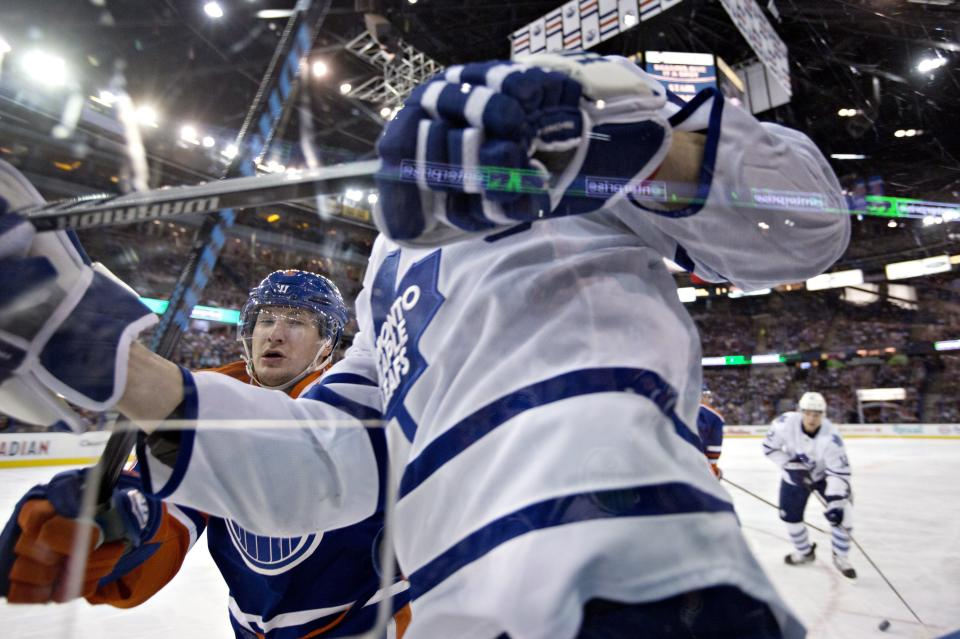 Kessel leads Maple Leafs to 4-0 win over Oilers