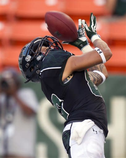 Jefferson has 7 TDs as Nevada beats Hawaii 69-24