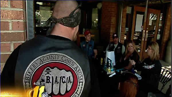 Motorcycle organization helps abuse victims