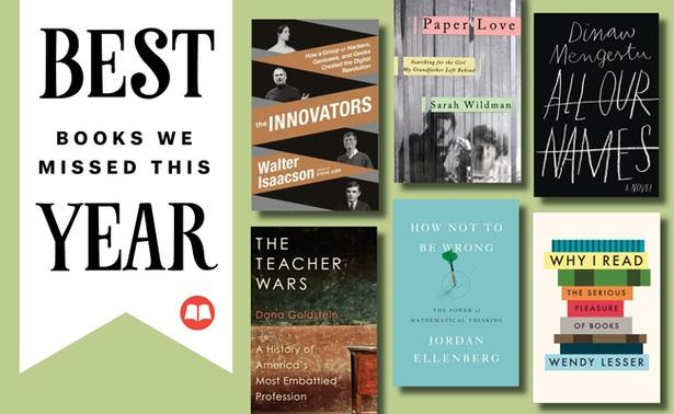 Six Books We Missed This Year