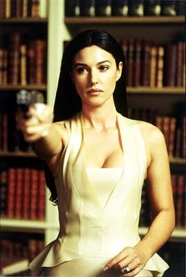 Persephone ( Monica Bellucci ) in Warner Brothers' The Matrix: Reloaded