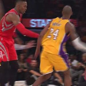Kobe's No-look Assist