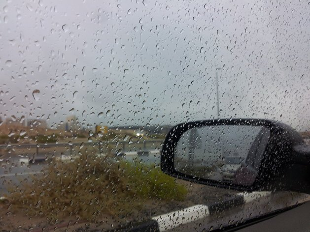 Rain in the UAE