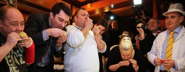 World Pie Eating Championships fail