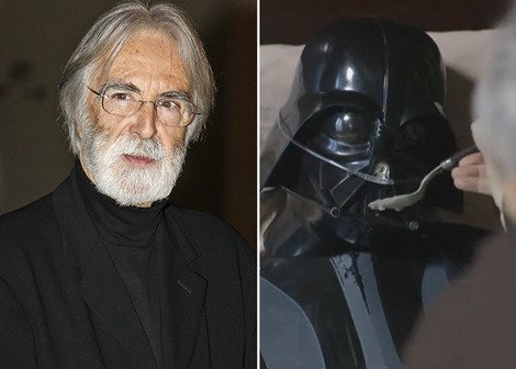 Michael Haneke and an ill Darth Vader