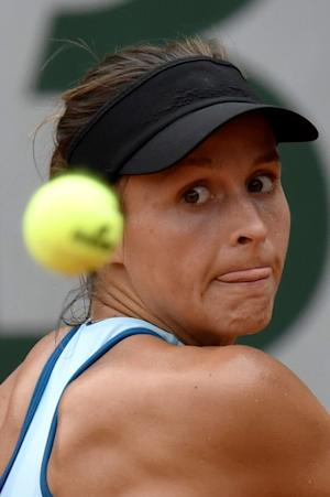 Germany's Tatjana Maria in action against Alize…