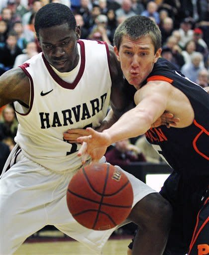 Harvard rallies to beat Princeton 67-64