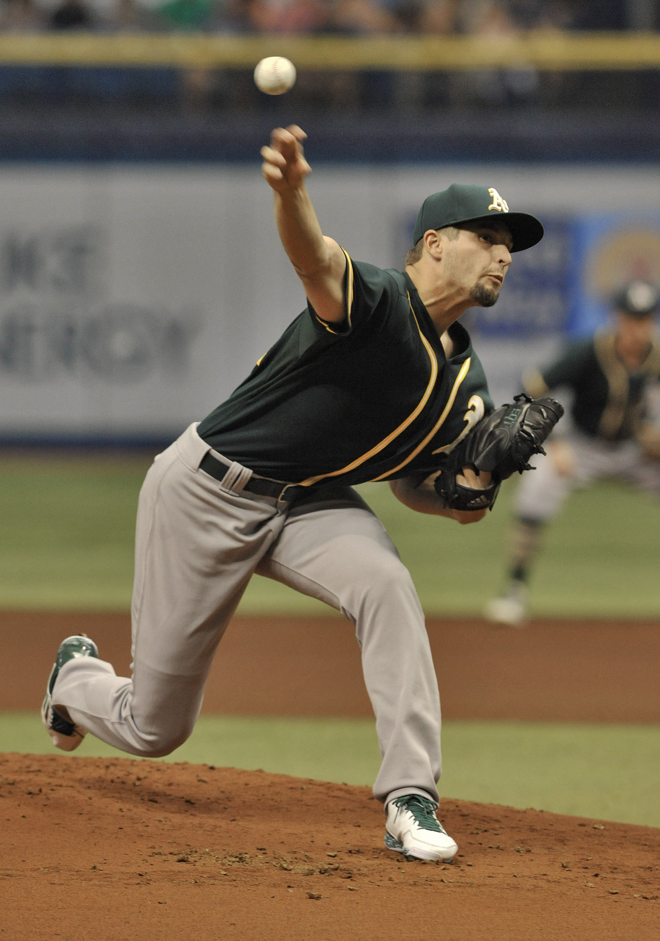 Graveman, Fuld lead A's to 5-0 win over Rays