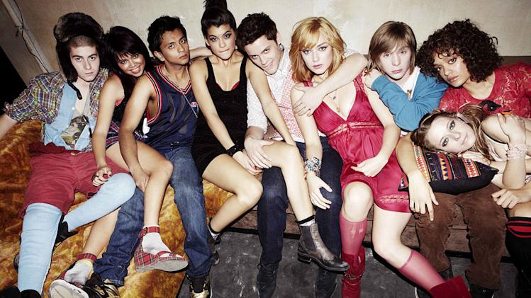 "The cast of ""Skins."""