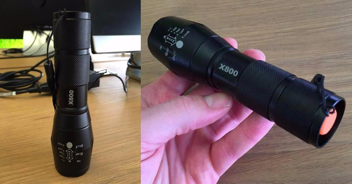 Crazy Powerful Tactical Flashlights Selling Fast!