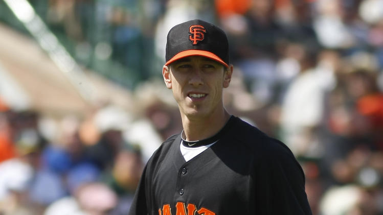 MLB: Spring Training-Oakland Athletics at San Francisco Giants