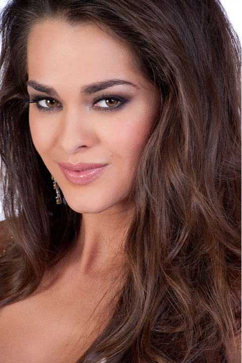 "Miss Ukraine 2011, Olesia Stefanko, competes for the title of Miss Universe 2011 during the ""60th Annual Miss Universe"" competition from São Paulo, Brazil."