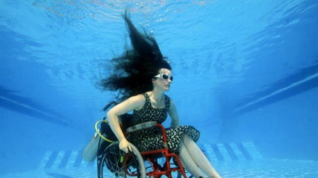 Underwater Wheelchair Inspires Disability Awareness [VIDEO]