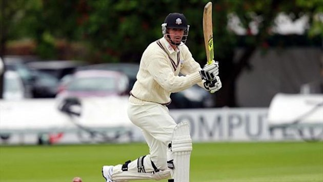 Kevin Pietersen scored a century from just 106 balls on day three against Yorkshire