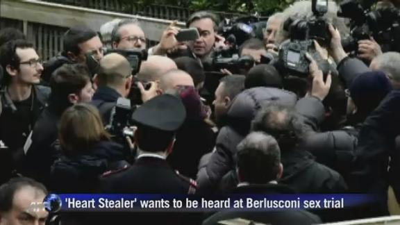 'Heart Stealer' wants to be heard at Berlusconi sex trial