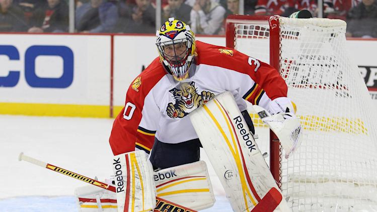 NHL: Florida Panthers at New Jersey Devils