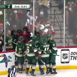 Blues at Wild / Game Highlights