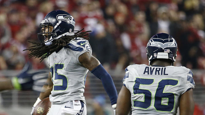 Sherman's big night leads Seattle past 49ers again