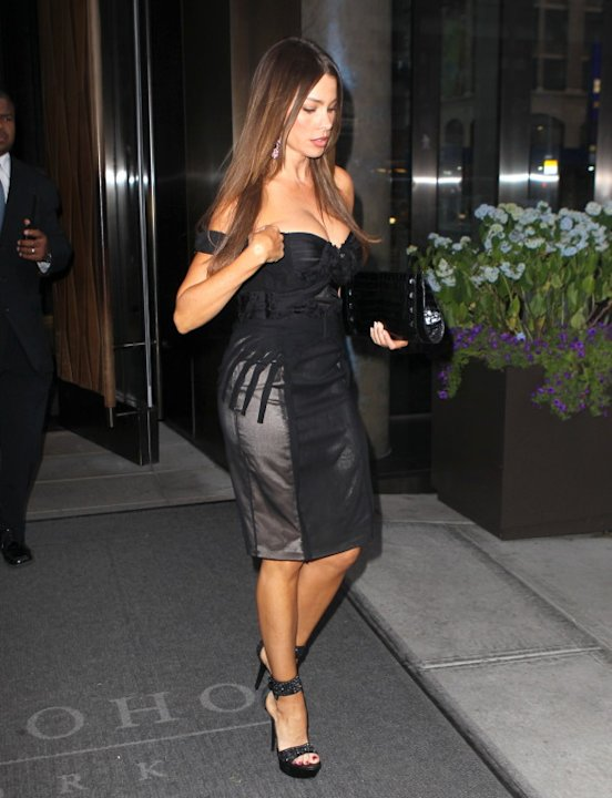 Sofia Vergara dressed to the nines