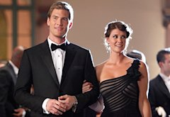 Chuck, Ryan McPartlin and Sarah Lancaster | Photo Credits: Greg Gayne/NBC