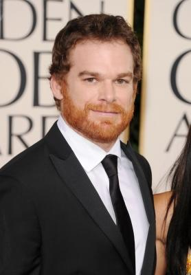 Michael C. Hall arrives at the 68th Annual Golden Globe Awards held at The Beverly Hilton hotel in Beverly Hills on January 16, 2011 -- Getty Images