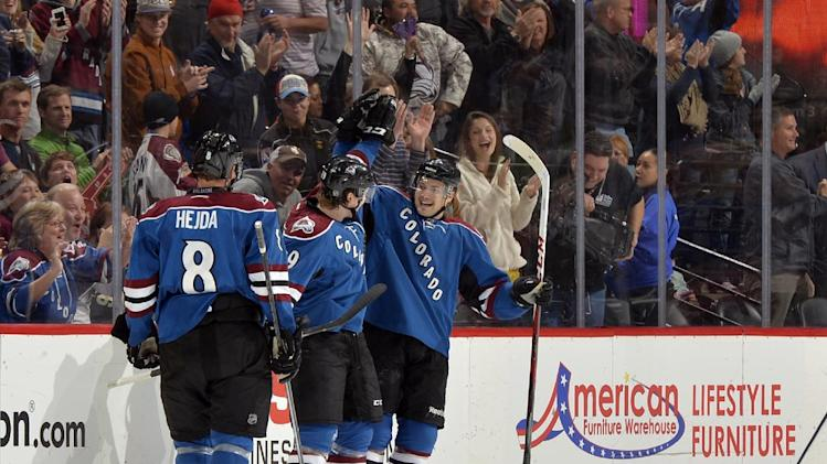 O'Reilly gets shootout goal and Avs beat Wild 3-2