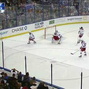 Henrik Lundqvist Save on Ondrej Palat (17:31/2nd)