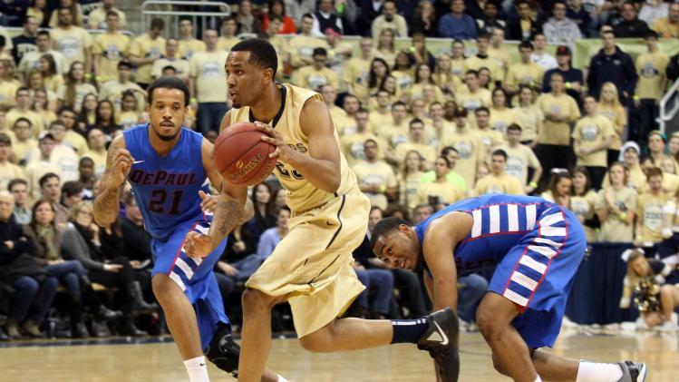 NCAA Basketball: DePaul at Pittsburgh