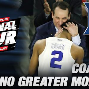 Coach K: No Greater Moment Than This | Duke in the Final Four