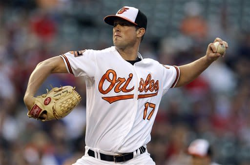 Matusz, Orioles beat Red Sox 4-1