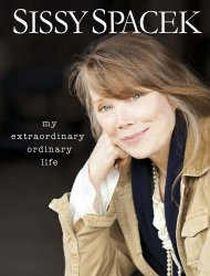 In this book cover image released by Hyperion, &quot;My Extraordinary Life,&quot; by Sissy Spacek with Maryanne Vollers, is shown. (AP Photo/Hyperion)