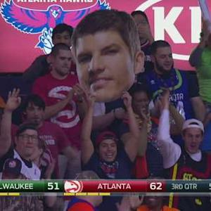 Korver Scores 11 Points in 65 Seconds