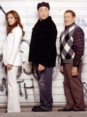 Leah Remini, Kevin James and Jerry Stiller