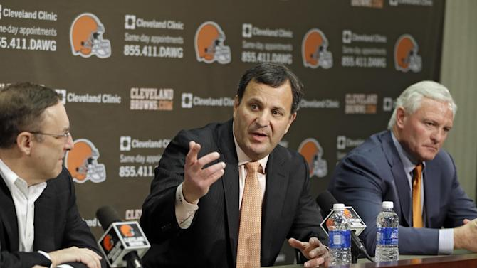 Browns CEO, GM leaving team in stunning shakeup