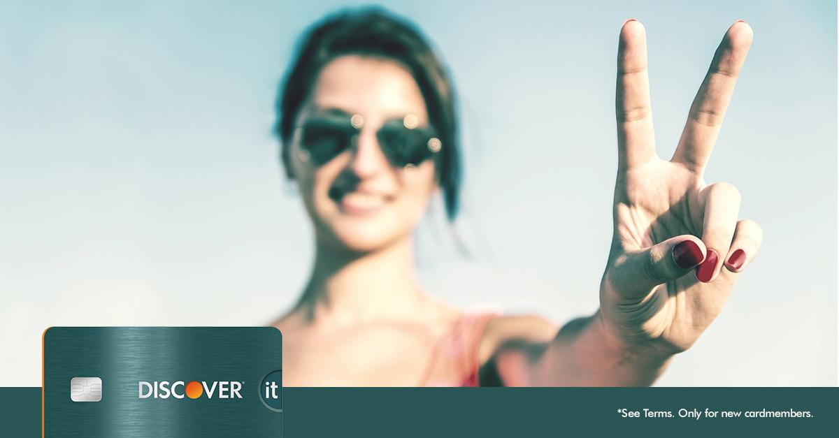 Now Discover It® Doubles Your 1st Year Cash Back*