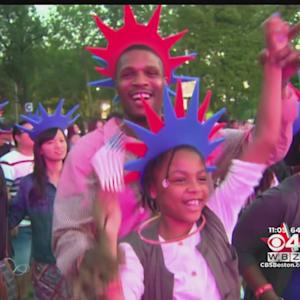 Hundreds Of Thousands Celebrate Fourth Of July On Esplanade In Boston