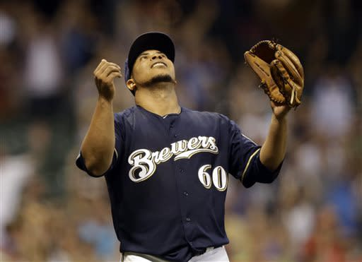 Peralta, Schafer enjoy firsts as Brewers top Reds