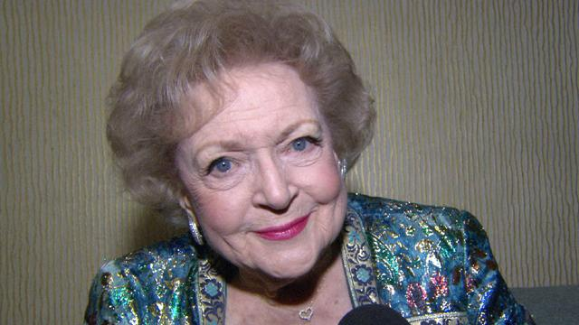 Betty White Having The Time Of Her Life On 'Hot In Cleveland'