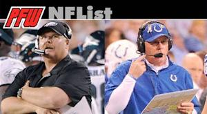 Eagles disappoint and Colts surprise in 2012