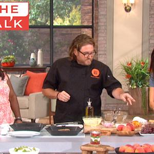 The Talk - Food Festival with Chef David LeFevre