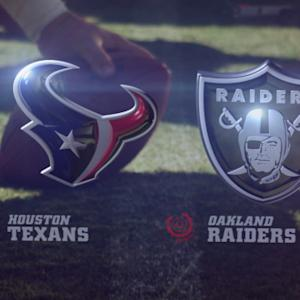 Week 2: Houston Texans vs. Oakland Raiders highlights