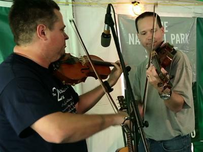 Fiddling Championship Draws Fast-Flying Fingers