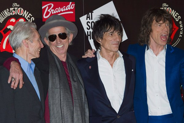 CB Rollingstones. (Photo: Jonathan Short/AP)