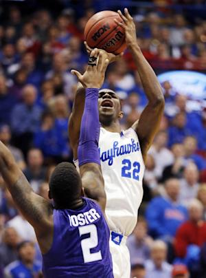 Wiggins leads No. 18 Kansas past No. 25 K-State