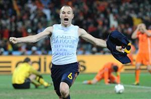 Iniesta: I was depressed before World Cup 2010