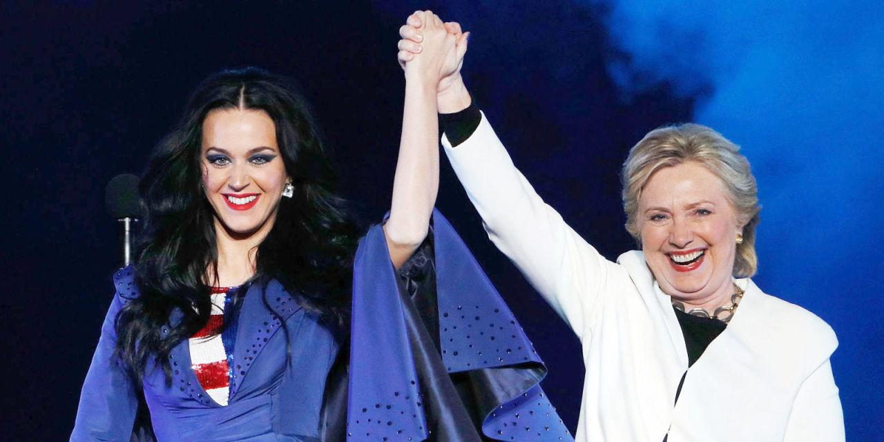 Katy Perry on What She'll Be in Donald Trump's America