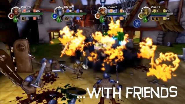 Orc Attack: Flatulent Rebellion - Co-Op Trailer
